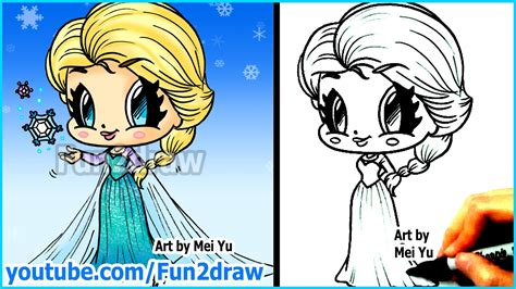 Drawing Channels by How To Draw Disney Princesses Characters Elsa From