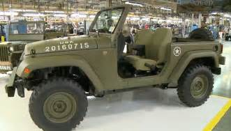 Jeep Jeep Jeep Wrangler 75th Salute Homage To The Willys Mb