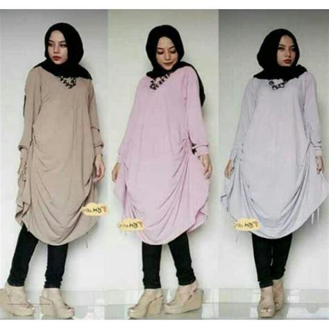Baju Tunik Daily Abu Tunik Murah Baju Muslim Atas Limited 1 busana muslim terbaru zara tunik jersey grosir baju muslim pakaian wanita dan busana murah