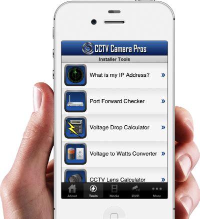 Cctv Mobil cctv installation tools calculators and converters