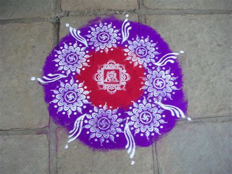 Handmade Rangoli Designs - 9 best handmade rangoli designs and patterns