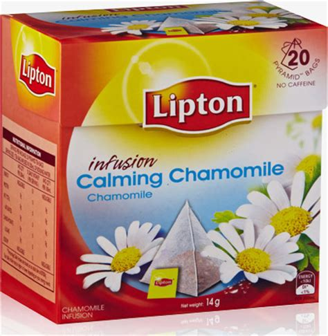 Teh Lipton Chamomile lipton calming chamomile herbal infusion reviews productreview au