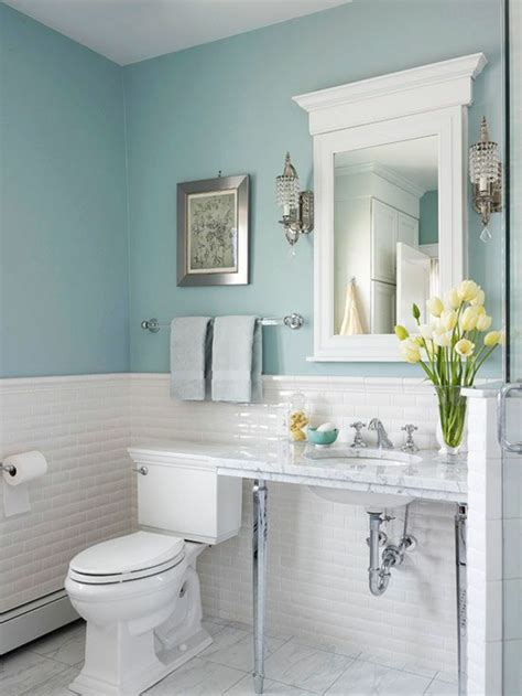 kleine badezimmer farbe farben ideen wandfarbe badezimmer frische ideen f 252 r kleine r 228 umlichkeiten