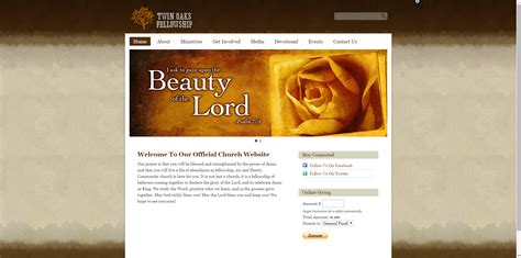 30 Best Church Website Templates For Ministry And Outreach Sharefaith Magazine Church Web Templates