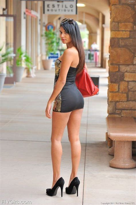 beautiful dresses mini skirts high heels and
