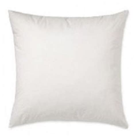 28x28 Pillow Insert by Multi Size Pillow Inserts For Shams 400tc Cotton Cover Poly Fill Usa Made