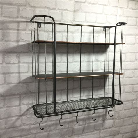 metal shelving kitchen shelves for wall shelf unit elegant ideas vintage industrial style metal wall shelf unit rack coat