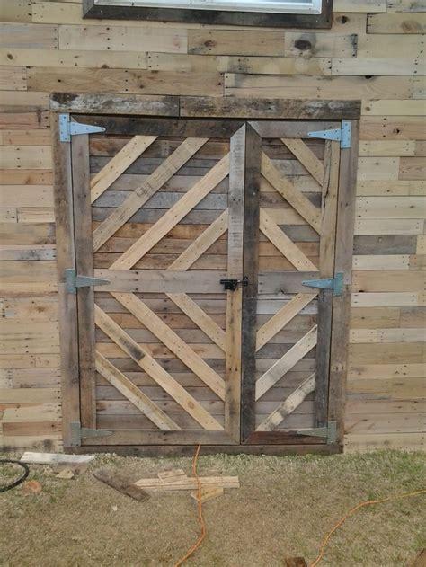 17 Best Images About Shed Door On Pinterest Canada Pallet Barn Door