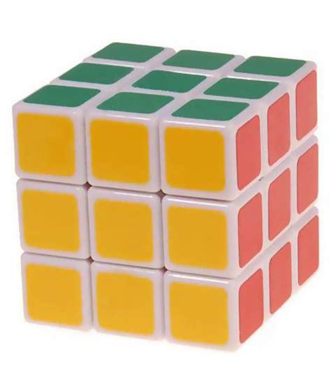 Grosir Rubik 3x3 Magic Cube smiles creation magic cube white stickerless rubik s cube 3x3x3 buy smiles creation magic cube