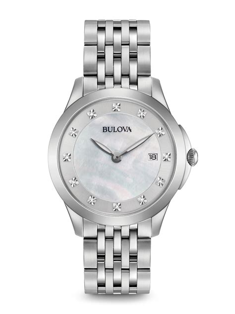 Bulova 96P174 Women's Diamond Watch   Bulova