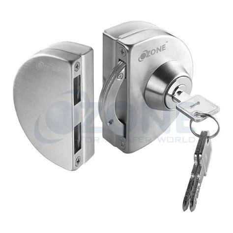 glass door lock glass door lock with strike box