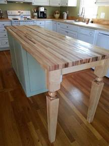 butcher block kitchen island breakfast bar furniture chic kitchen island wood posts for breakfast bar