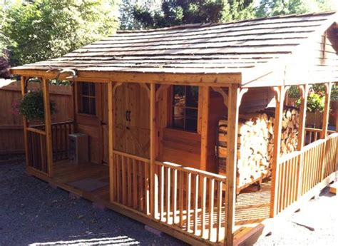 outdoor cooking shed cedarshed canada