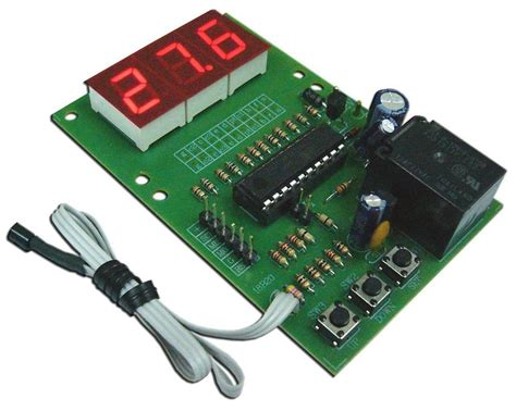 electric circuit kit fa945 digital temperature controller electronic circuit