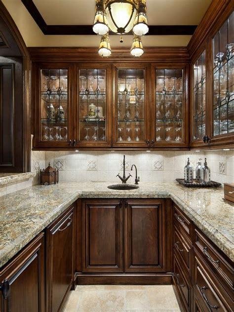 elegant  shaped home bar photo  houston