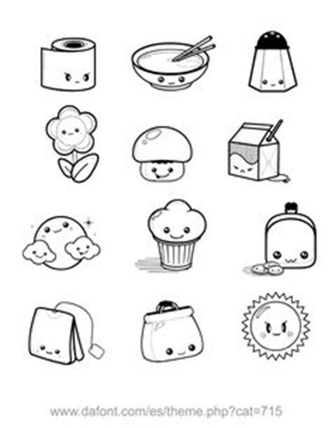 imagenes de monitos kawaii para colorear 1000 images about dibujos on pinterest coloring pages