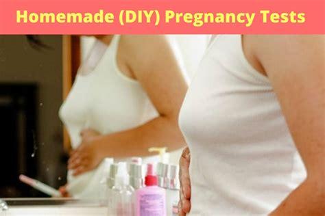 top 13 diy pregnancy test