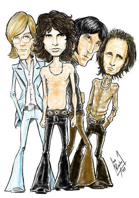 Kaos The Doors Rock Band 382 best caricatures rock bands images on caricatures caricatures and