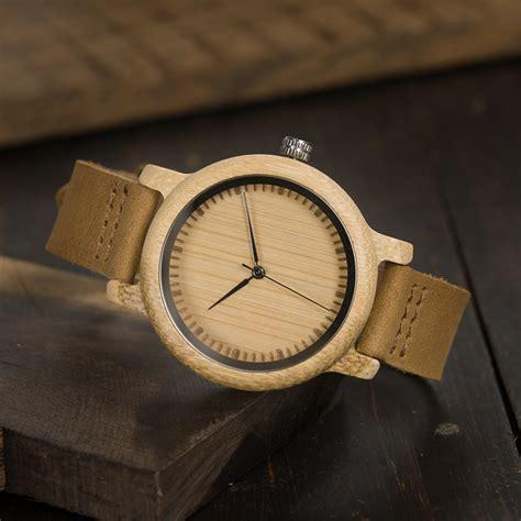 Jam Tangan Kayu Wanita Bobo Bird B0 bobo bird jam tangan kayu analog wanita wa19 brown