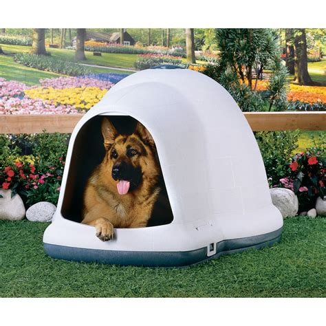 large indigo dog house shop dogloo ii x large doghouse at lowes com