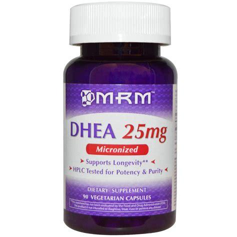 Vitamin Nutrisi Dhea 25mg 100 Capsul mrm dhea 25 mg 90 veggie caps iherb
