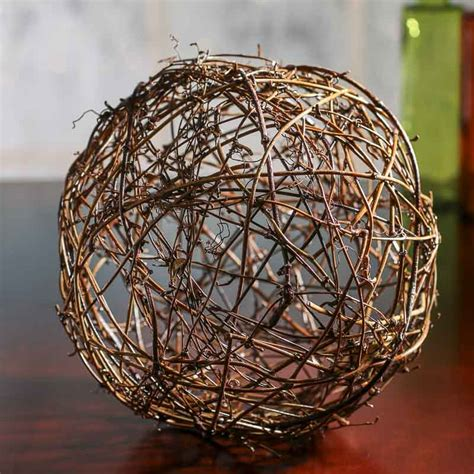 grapevine balls grapevine twig vase fillers table scatters floral supplies craft supplies