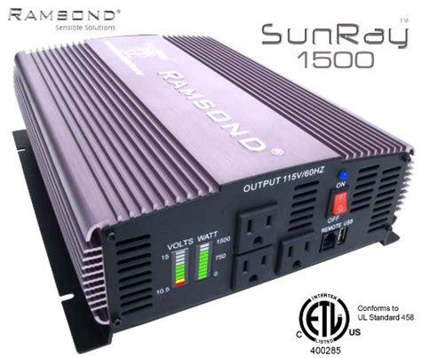 Ramsond Sunray 1500 3000 Watts W True Sine Wave Power