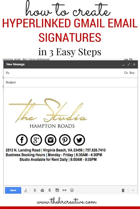 gmail email signature templates 40 best email signature images on email