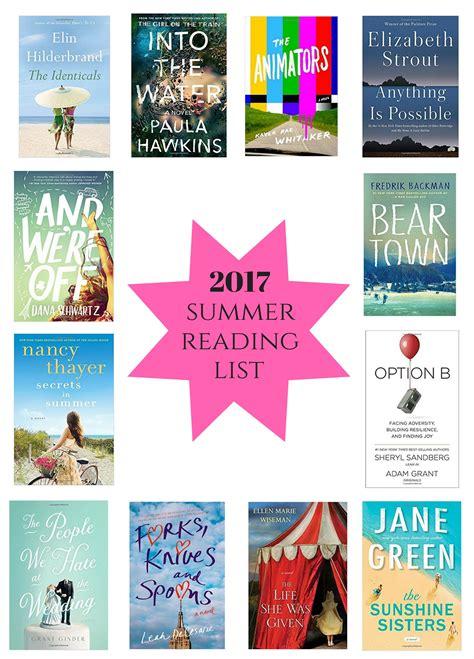 Summer Reading Sweet 2017 summer reading list how sweet eats
