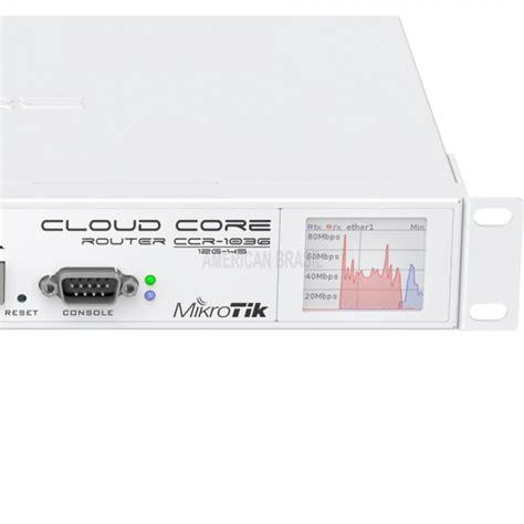 Router Ccr1036 12g 4s Em ccr1036 12g 4s em toda linha de epi telecom