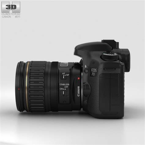 canon 3d canon eos 7d 3d model hum3d