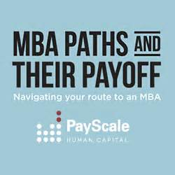 Mba Pay Scale In Pune by Mba Paths And Their Payoff Infographic Payscale