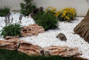 deco jardin galet decorating ideas