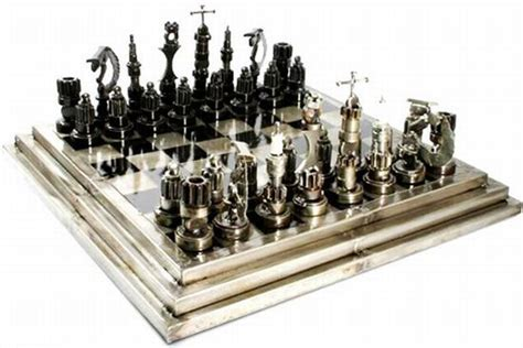 unusual chess sets unusual and interesting chess set designs designbuzz