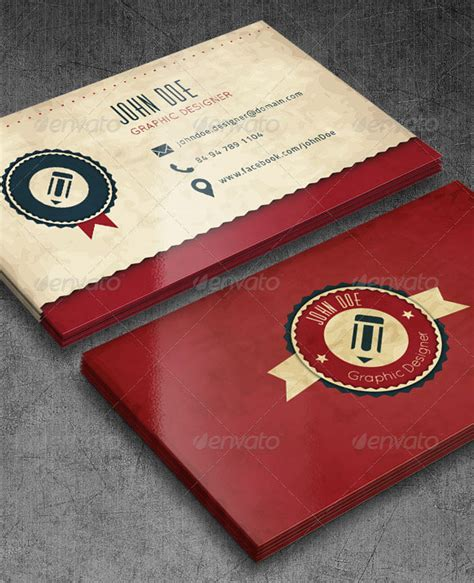 retro business card template vintage looking business cards gallery card design and