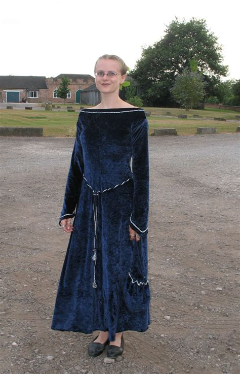 sewing pattern velvet dress blue velvet medieval dress sewing projects burdastyle com