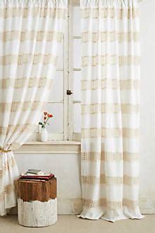 tunnel tab curtains crochet spliced curtain