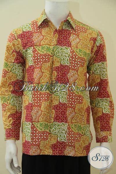 Hem Batik Bagus hem batik lengan panjang bagus dan keren busana batik