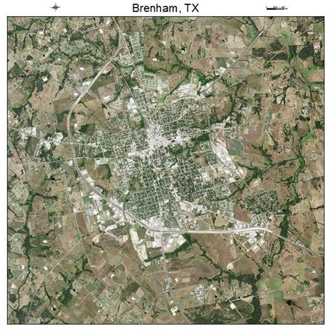 map of brenham texas aerial photography map of brenham tx texas