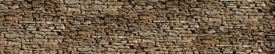 Vintage Wall Mural brise vue trompe l oeil mur de pierres pour fausse cloture