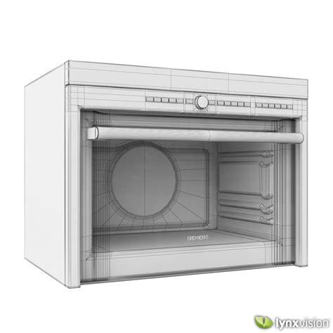 multifunktionsbackofen mit mikrowelle siemens multi function microwave oven 3d model max obj