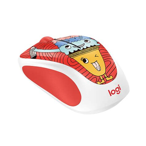 Logitech M238 Mouse Wireless Doodle Collection Sneakerhead logitech colorful doodle collection wireless mouse m238 jakartanotebook
