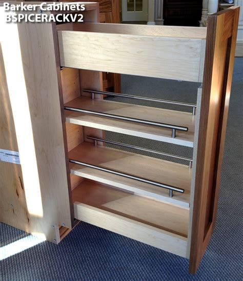Spice Rack Cabinets pullout spice rack cabinet