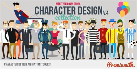 Character Design Animation Toolkit After Effects Template See It In Action Animated Animated Explainer Templates