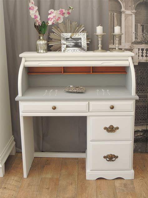 shabby chic desk shabby chic roll top desk eclectivo furniture