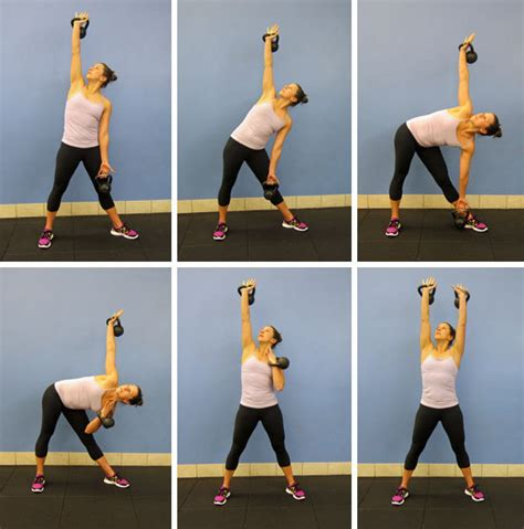 kettlebell side swing 25 ways to tone your abs without crunches daraenicole