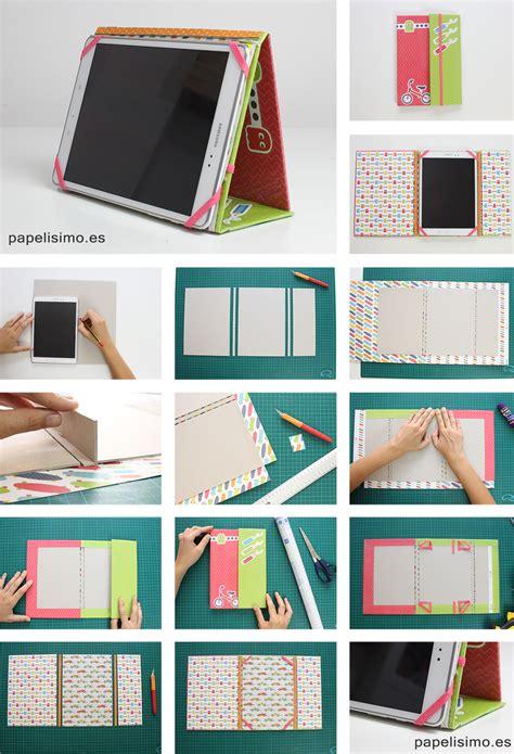 fundas de papel c 243 mo hacer funda tablet con cart 243 n y papel papelisimo