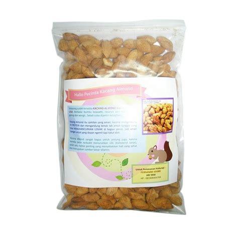 Harga Murmer Kacang Almond Kulit 500gr jual fernando store inshell roasted kacang almond 500 g harga kualitas terjamin
