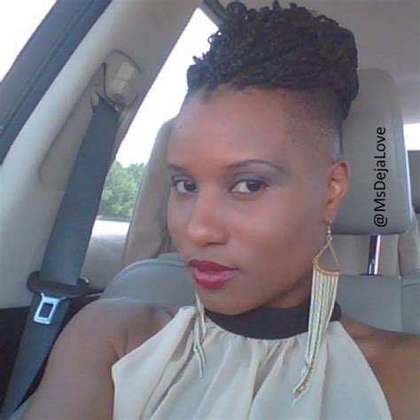 crochet braids with bald edges crochet hair styles with shaved sides