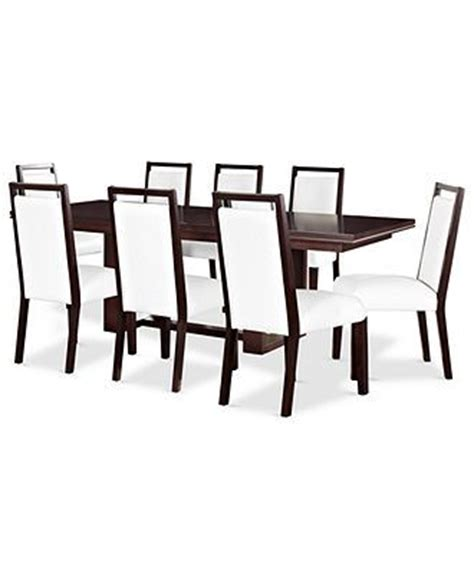 Dining Room Chairs At Macy S Belaire Dining Room Furniture 9 Set Dining Table